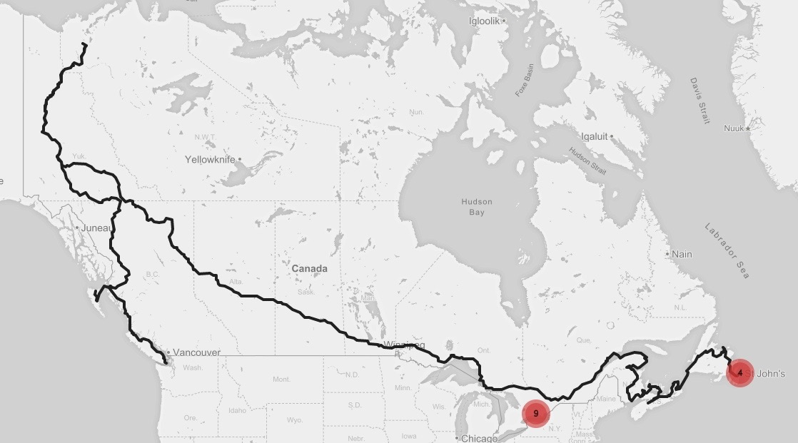 Cycling-Across-Canada-Map-Route