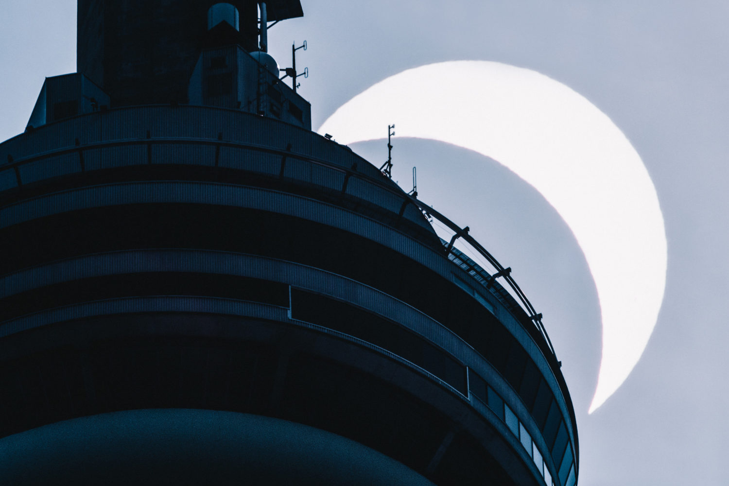 How I Shot the Eclipse & the CN Tower