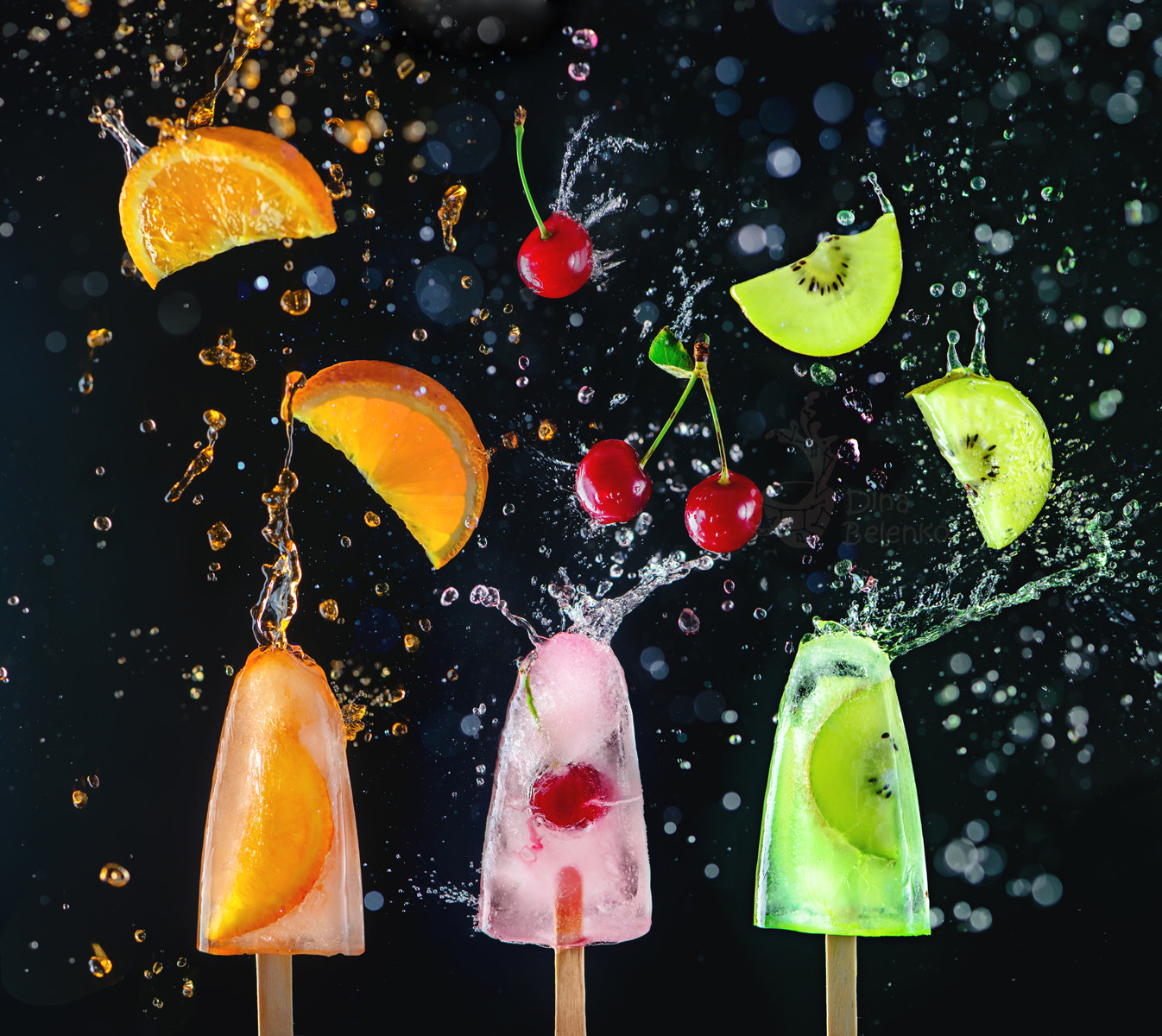 Still Life Photo Tutorial: Popsicles in Action