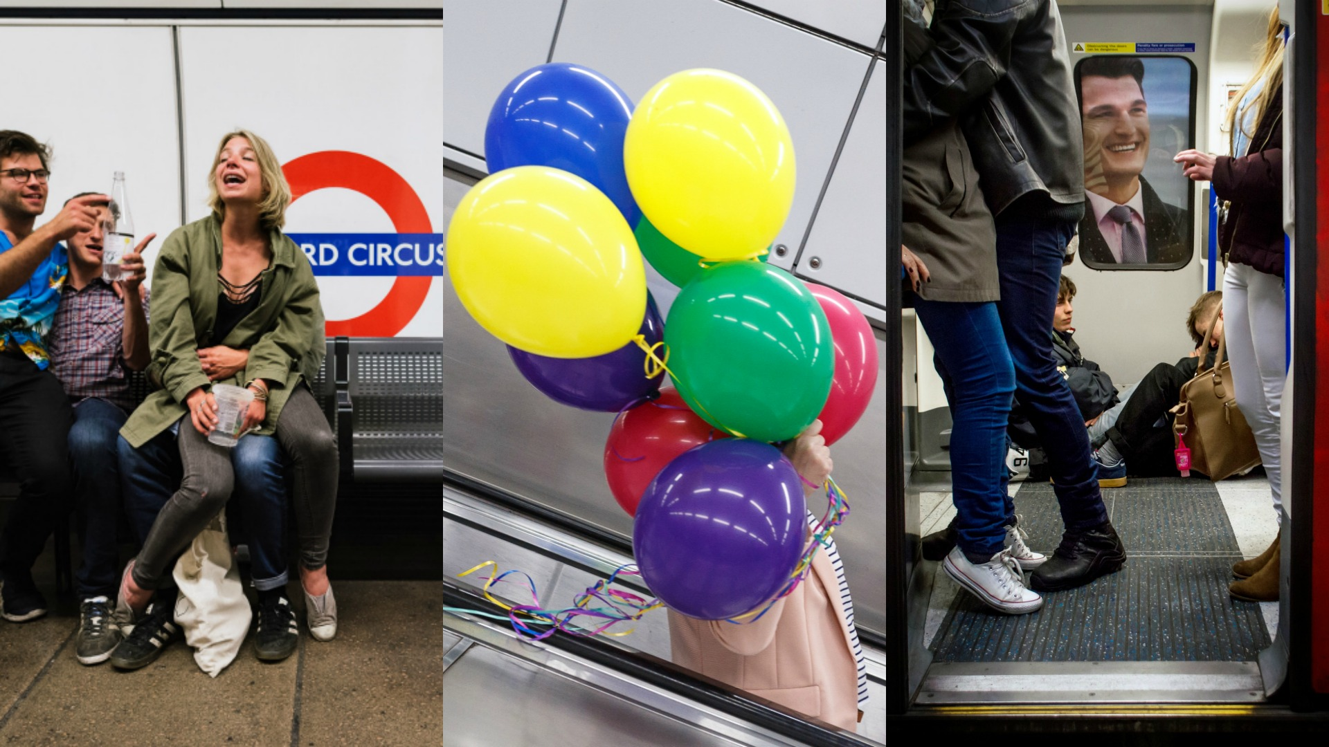 Up All Night Photographing the London Tube