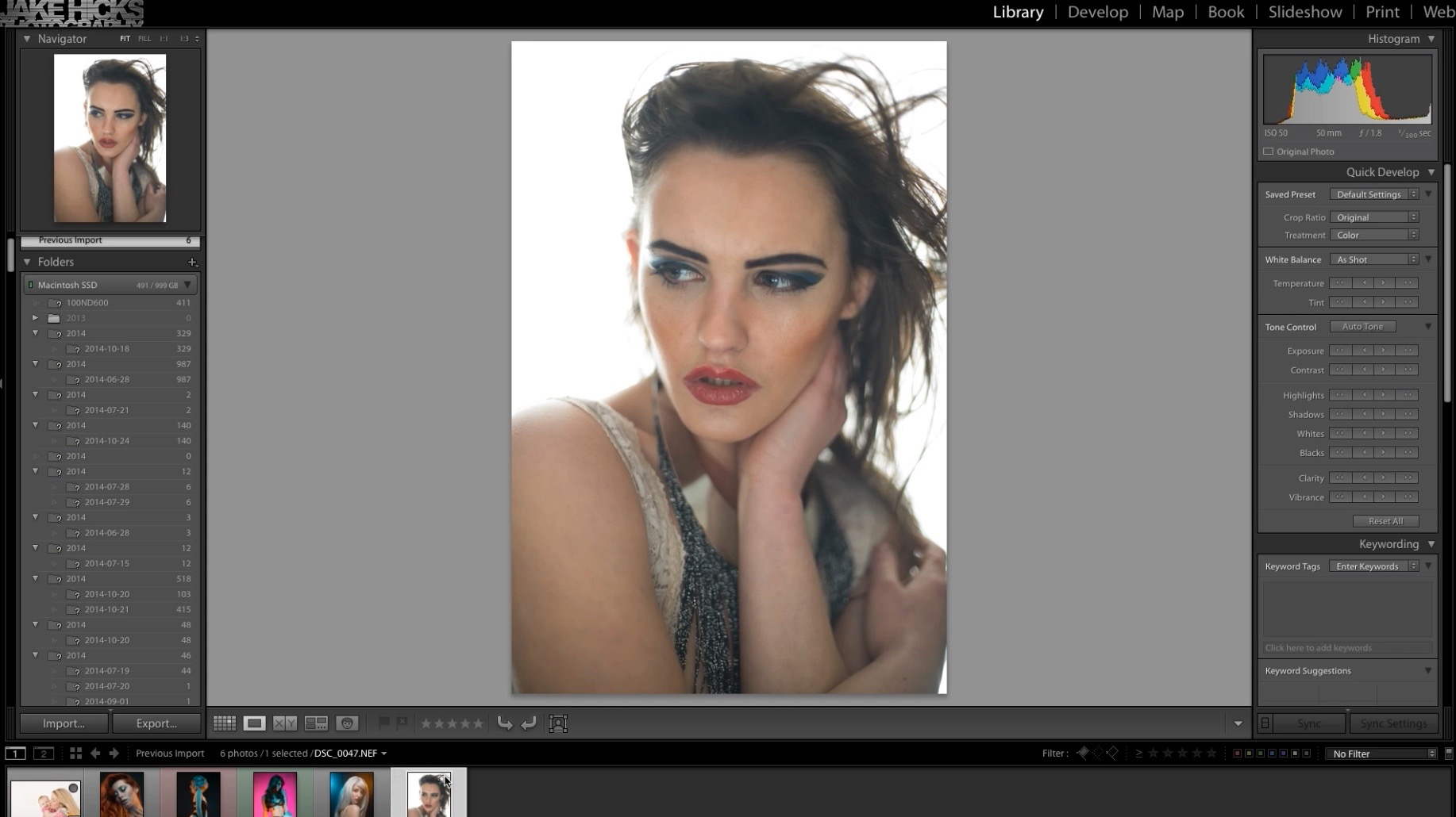 Lightroom Workflow for Editorial Photographers
