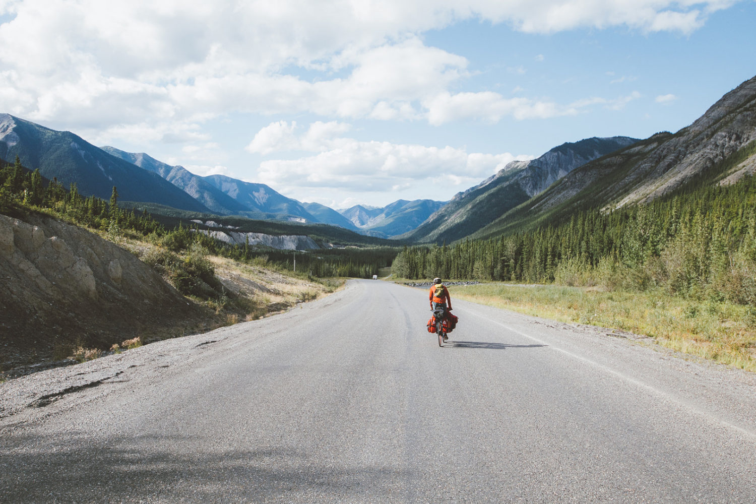 Cycling Across Canada: Photographing the North's Dempster Highway