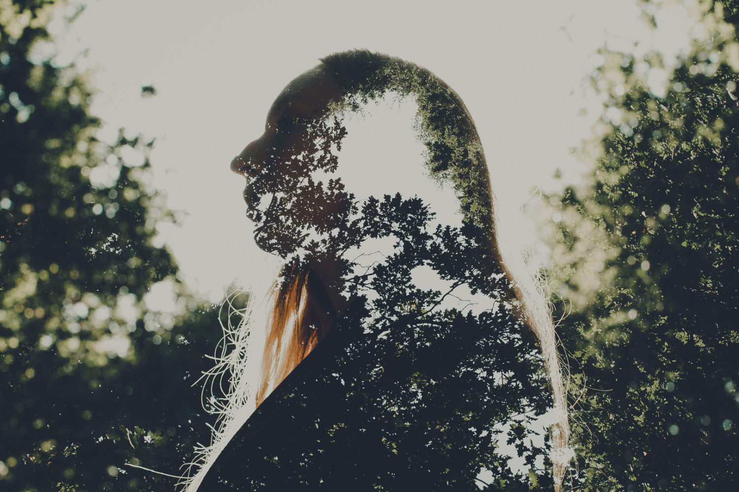 How to create surreal double-exposure photos