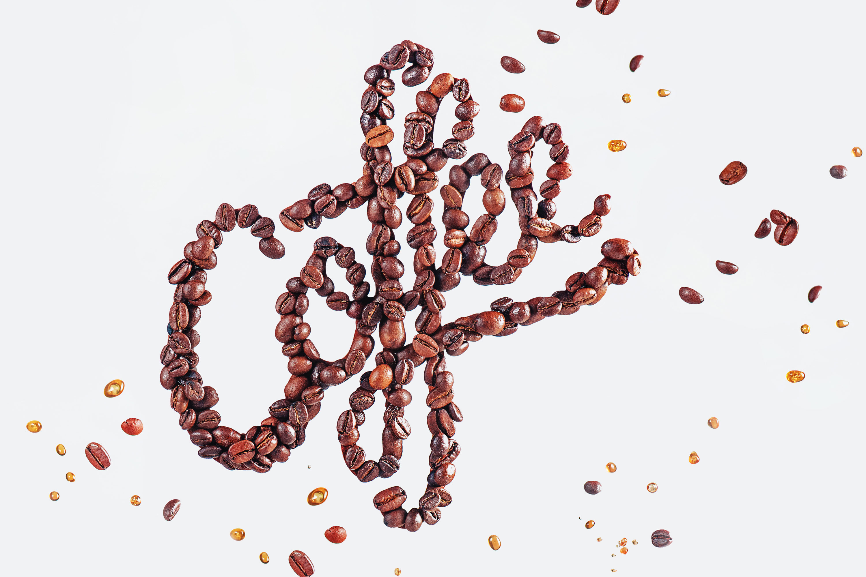 How to create a dynamic coffee-themed still life