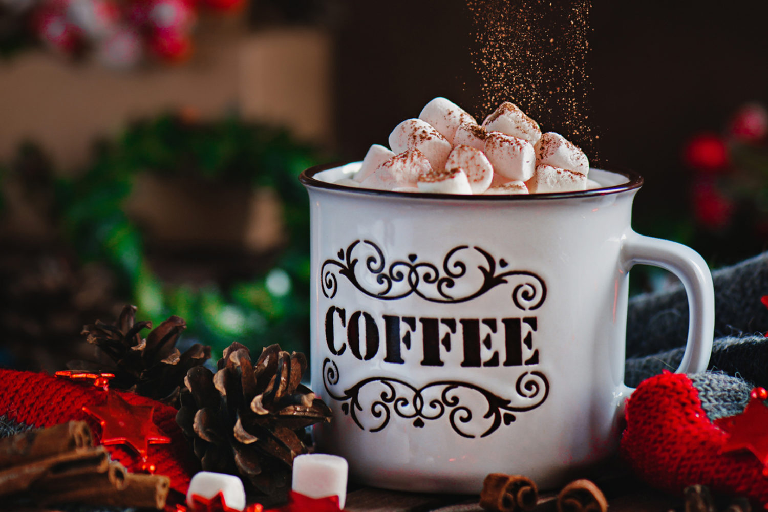 How to create a magical hot cocoa still life