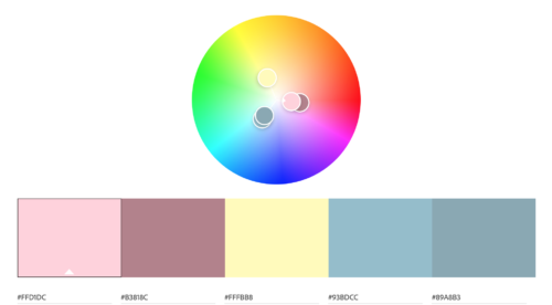 Color wheel -