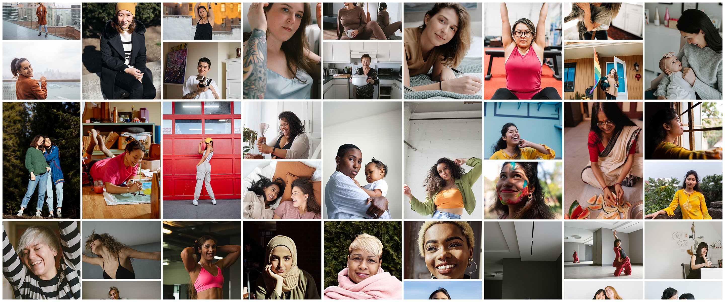 I am: Woman: 500px Commercial Grant Recipients