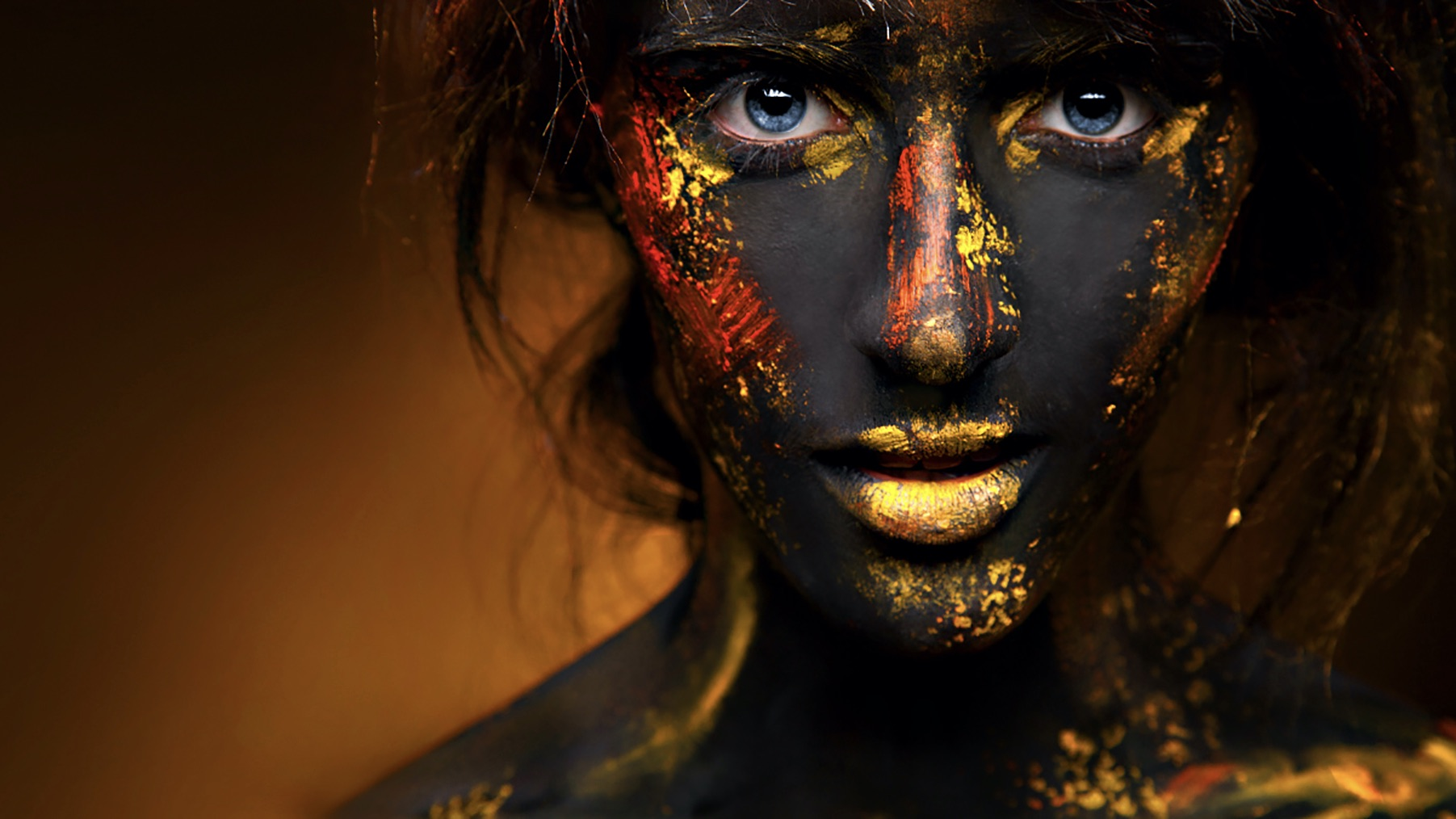 50 freaky, fancy, and fun face painted portraits