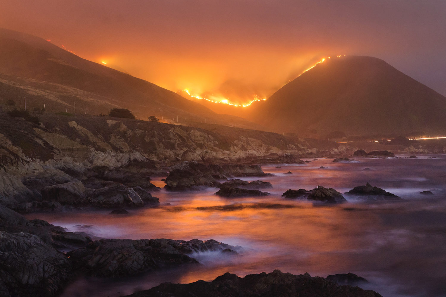 Extraordinary photos of wildfires