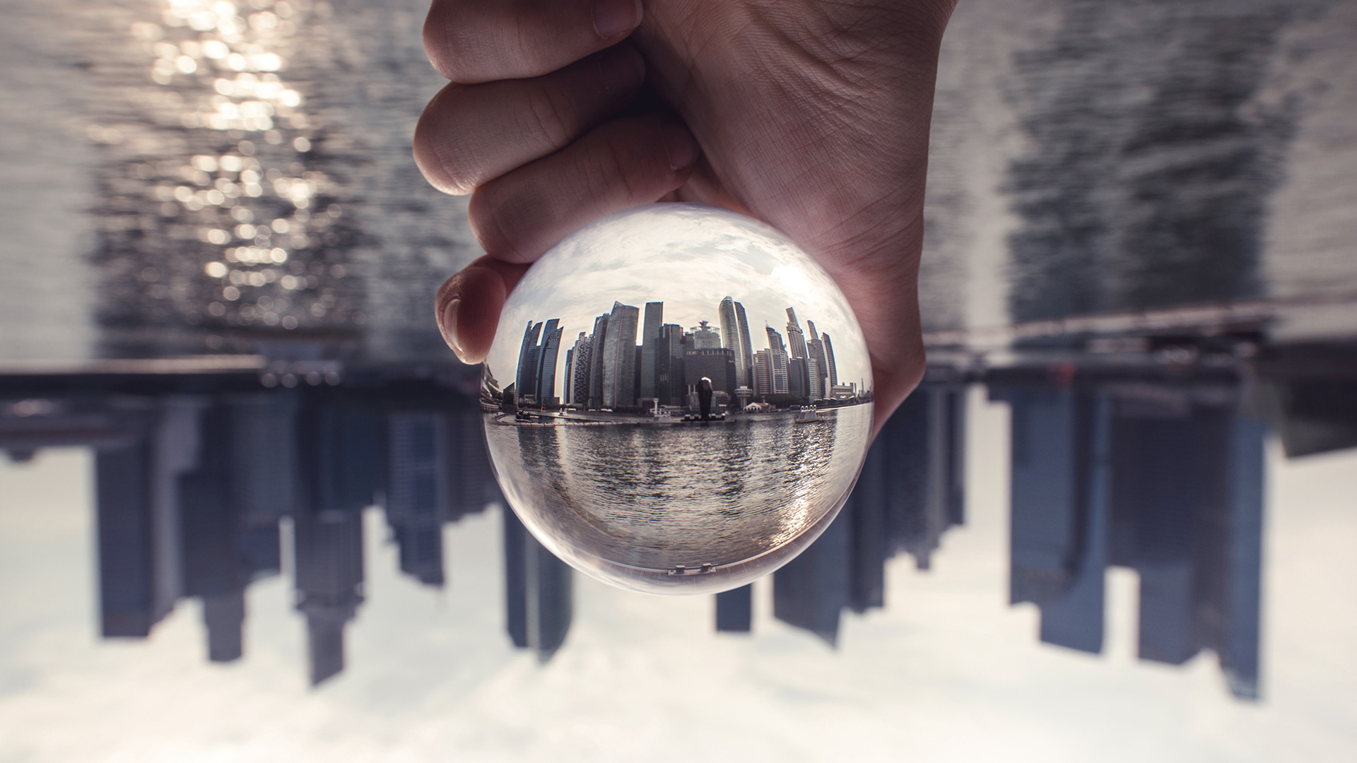 Here's how to get that creative crystal ball effect in your photography